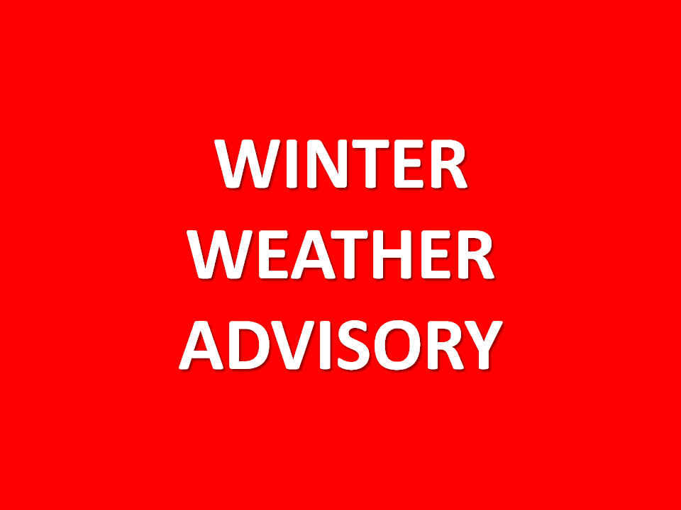 Winter Weather Advisory Friday into Saturday