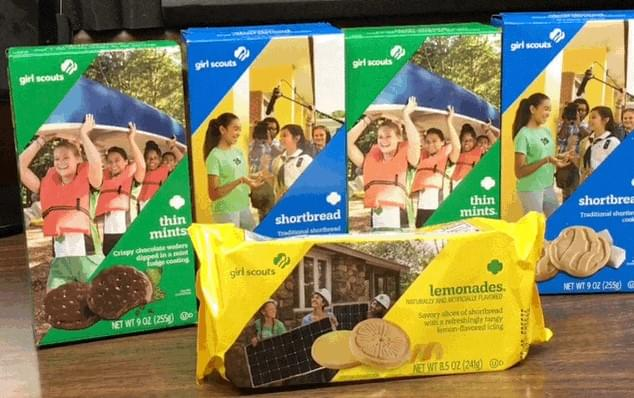 Girl Scout Cookies Are Here!