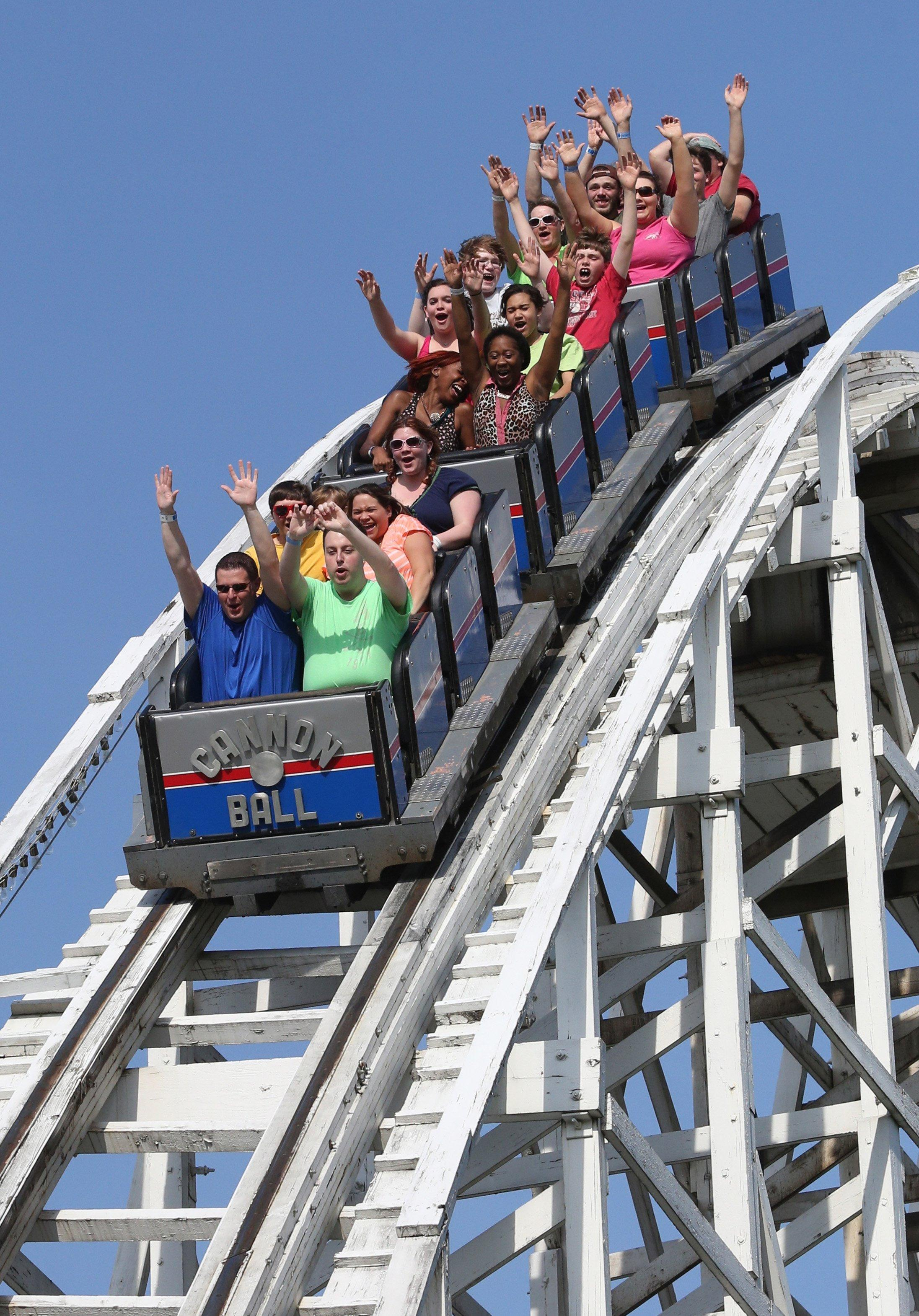 No more screaming at theme parks?