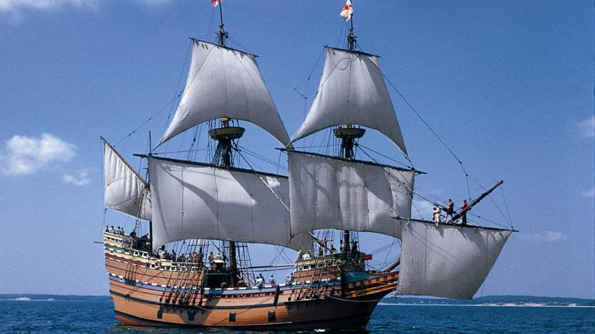 400th Anniversary with the Mayflower 2