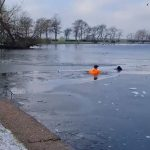 Friday Feel Good Feature – Jogger Dog Paddles Pooch Out Of Frozen Lake