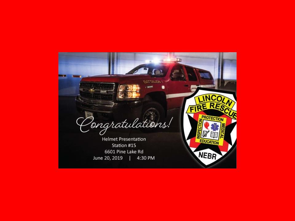Lincoln Fire & Rescue Adding a Batalion