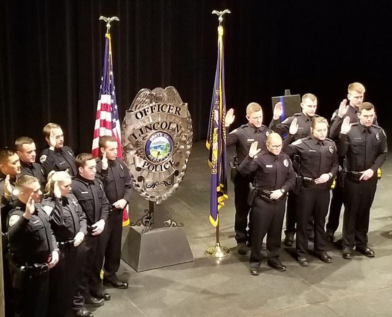 Lincoln Police Department Welcomes 13 Officers To Force