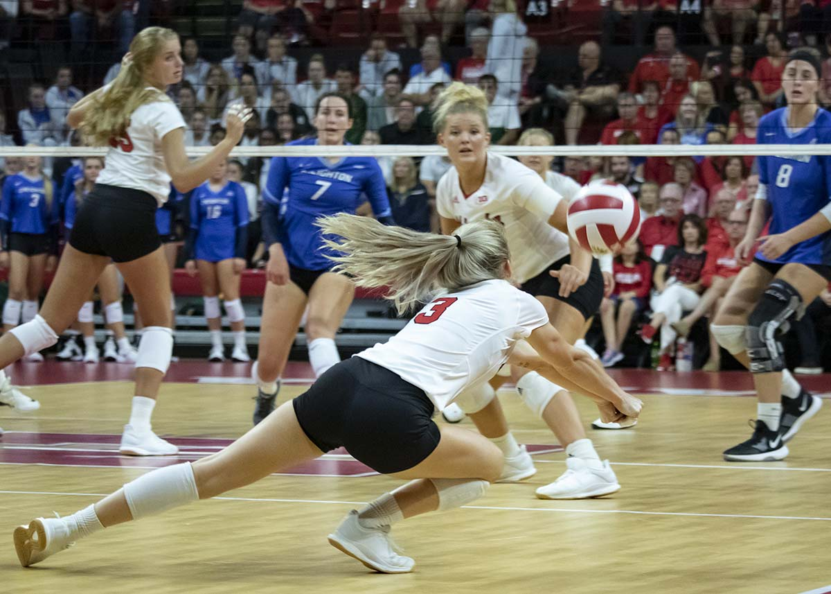 Volleyball's Miller Enters Transfer Portal