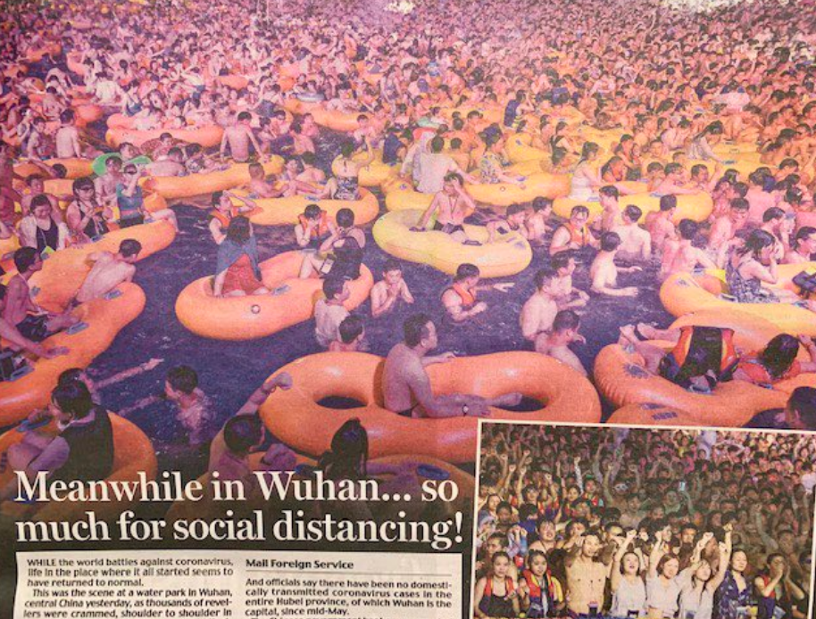 Wuhan, where COVID-19 was first identified, held a massive music festival.