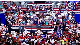 President Trump In Nebraska Tuesday