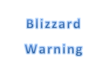 Blizzard Warning Friday Until 6 PM