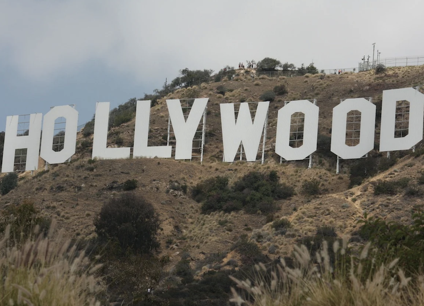 HOLLYWOOD Sign was Changed to HOLLYBOOB – Check Out The Pics