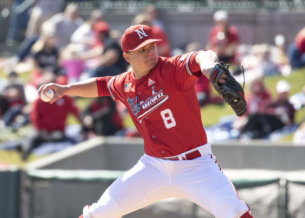 Nebraska completes sweep of Minnesota in front of sold out crowd