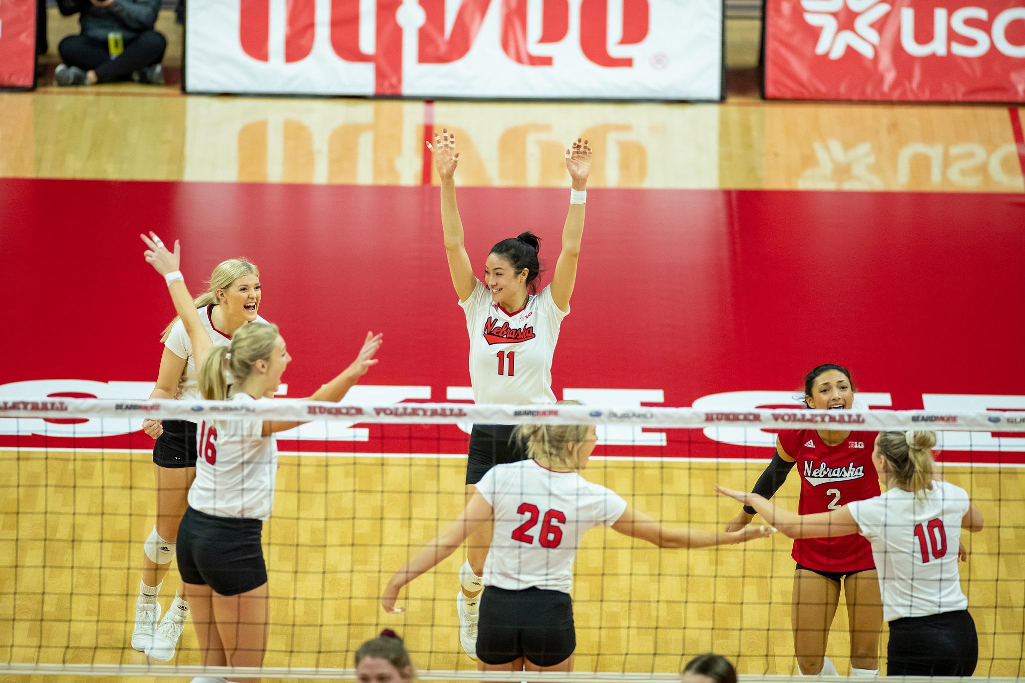 Nebraska-Penn State volleyball matches cancelled