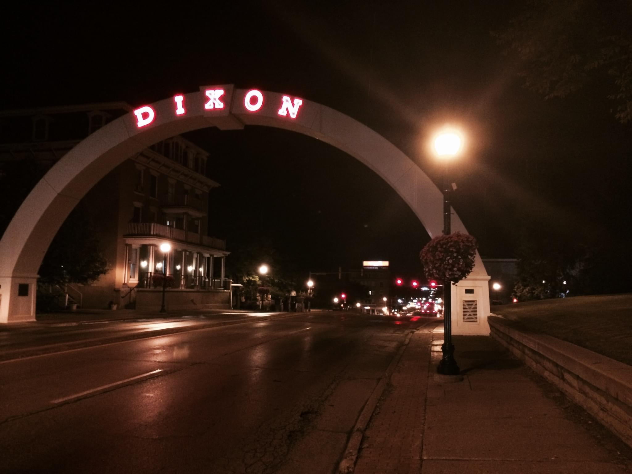 Dixon Arch Night Downtown