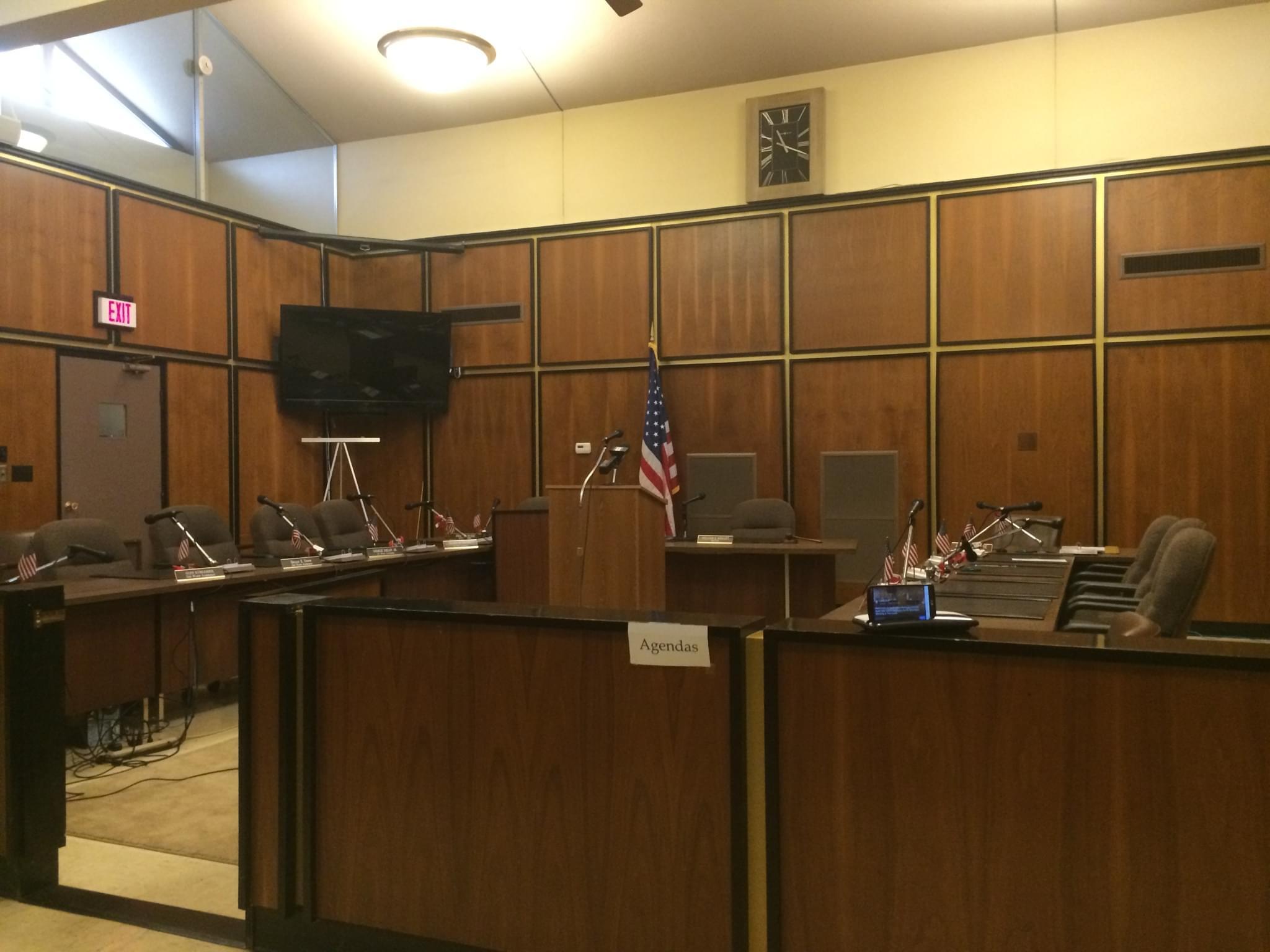 Rock Falls Council Chamber