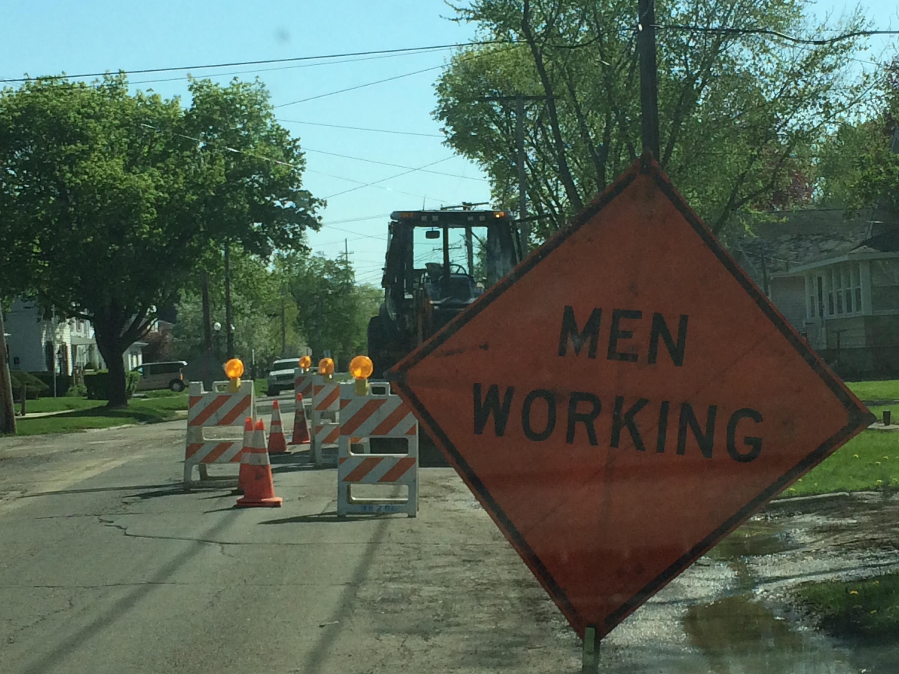 In Dixon 7th Street is Nearly Done and Other Road Work is Ahead of Schedule