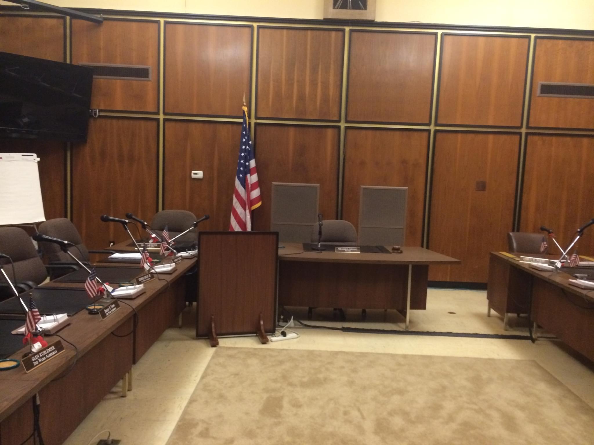 Rock Falls Council Room