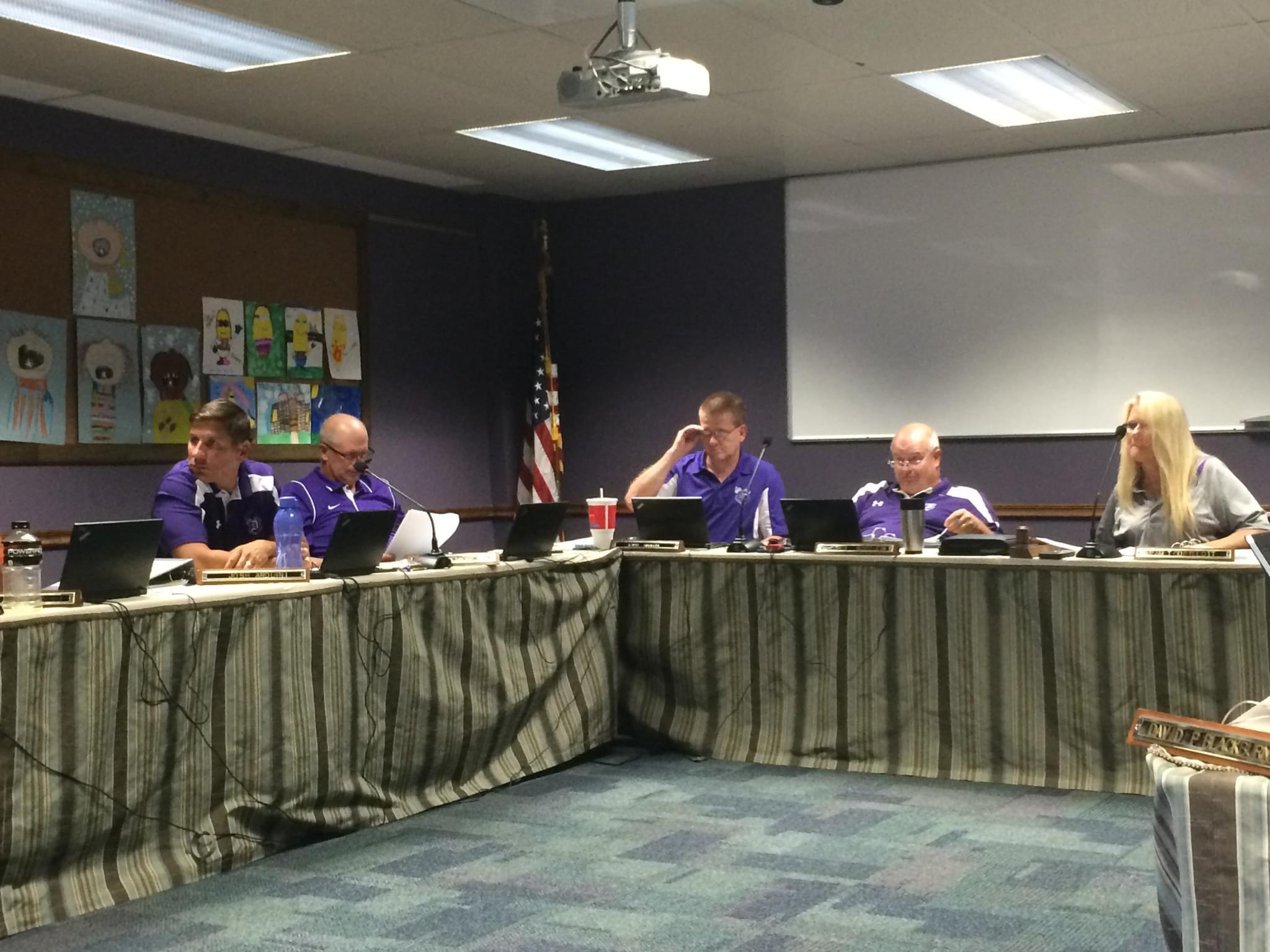 Dixon School Board New
