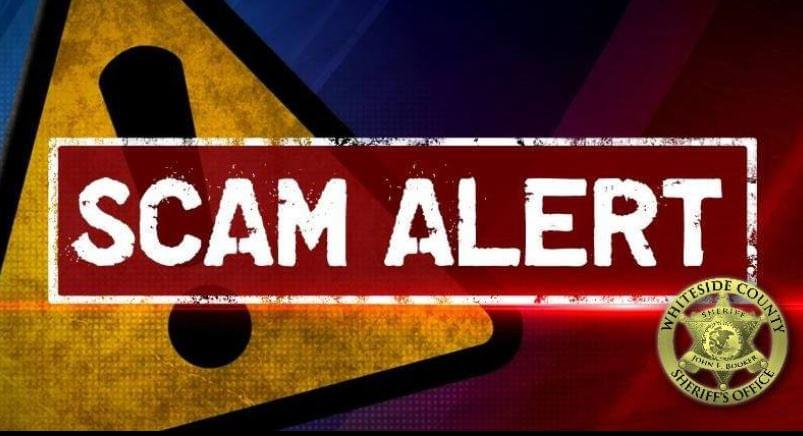 Whiteside County Sheriff Scam