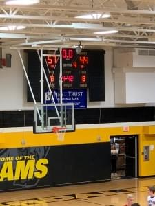 Newman 2019 Scoreboard