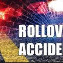 Police accident rollover