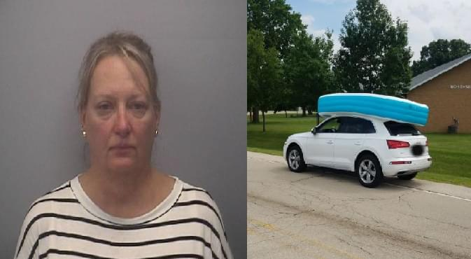 Dixon Woman Arrested After The Wrong Kind of Car Pooling