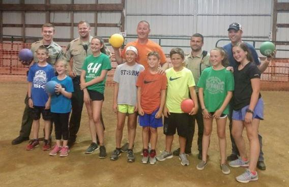 Lee County Deputies Do Not Fare Well in Dodge Ball
