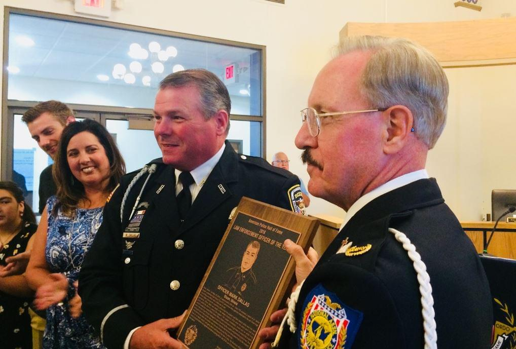 Mark Dallas Receives One More Honor, Named National Officer of the Year
