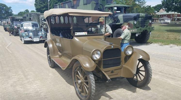 History Will Return to Dixon Thursday With Convoy of Military Vehicles