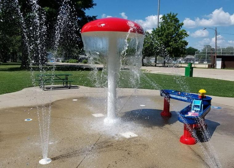 Dixon Park District Not Forgetting About the Other Splash Pad in Town