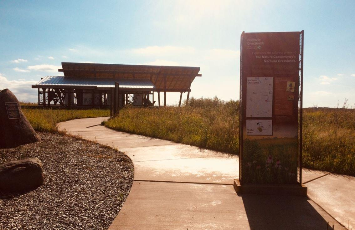Nachusa Grasslands Visitor Center Receives Merit Award