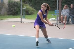 Dixon Girls Tennis Falls at Home to Sycamore