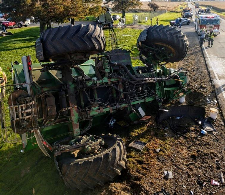 Lee County Sheriff Farm Accident