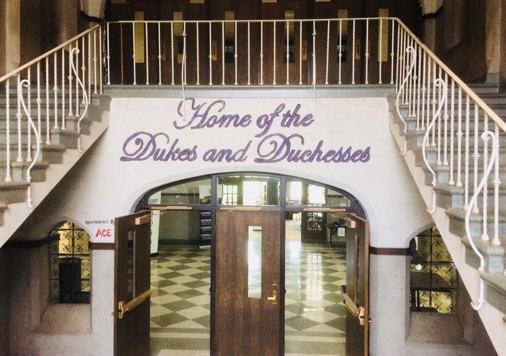 Dixon School High Interior