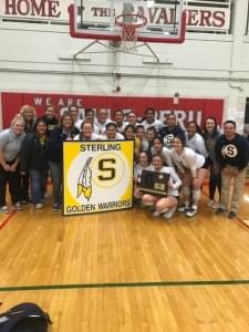 Girls Volleyball- Sterling Returning to Redbird Arena for State
