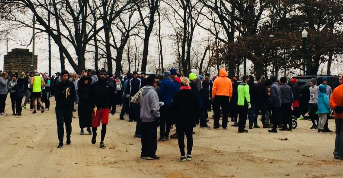 Over 500 Take a Trot Before the Turkey Thursday Morning