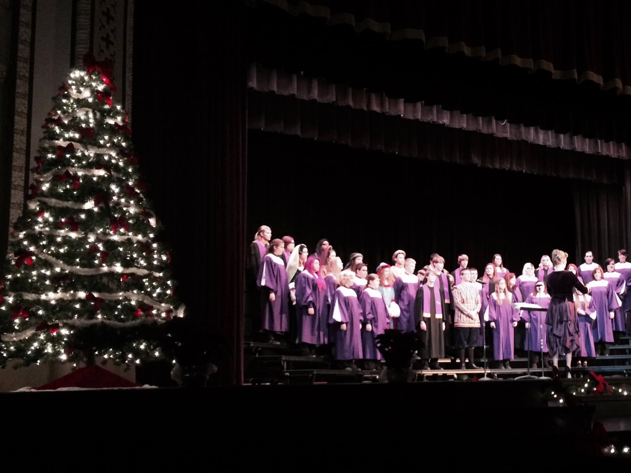 dixon high school choir christmas