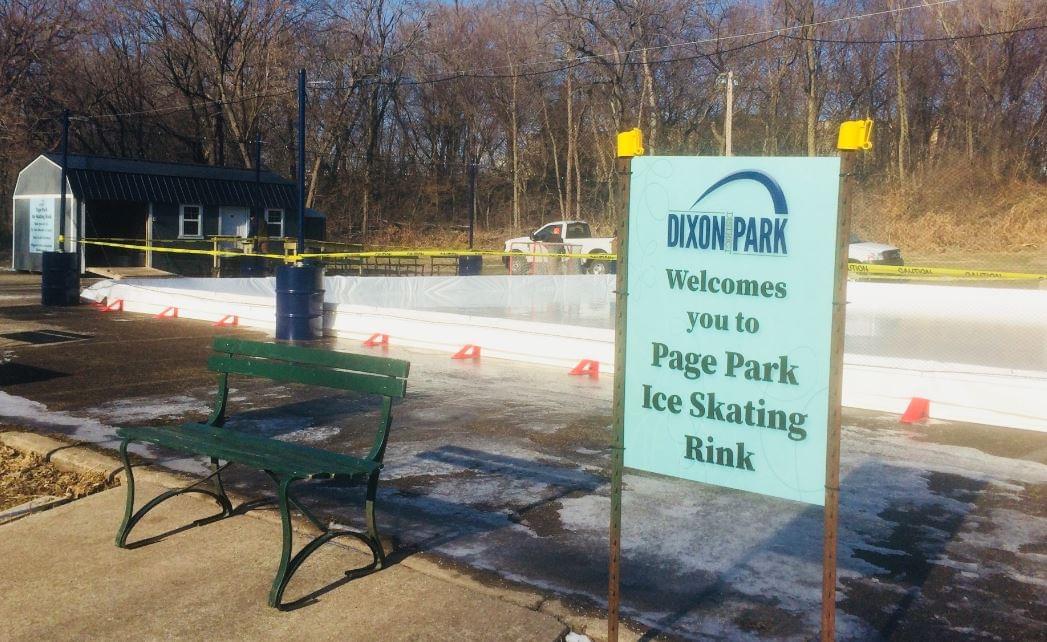 Dixon Park Ice Rink Complete