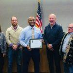 Dixon council Ike Mercer Award Lane