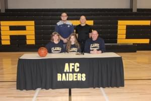 AFC's Penick Signs to Play Basketball at Clarke University in Dubuque