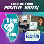 Rock Falls Chamber of Commerce Wants Your Selfies Featuring Positive Messages