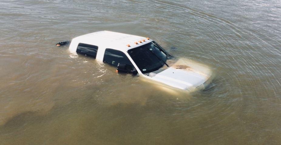Dixon Police Truck River 3