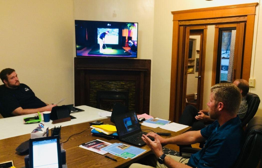 You Can Now Play 18 Holes Year Round as Dixon Park District Buys Golf Simulator