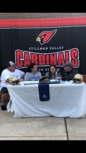 Stillman Valley's Macie Boyd Signs to Play Softball at Trinity International University