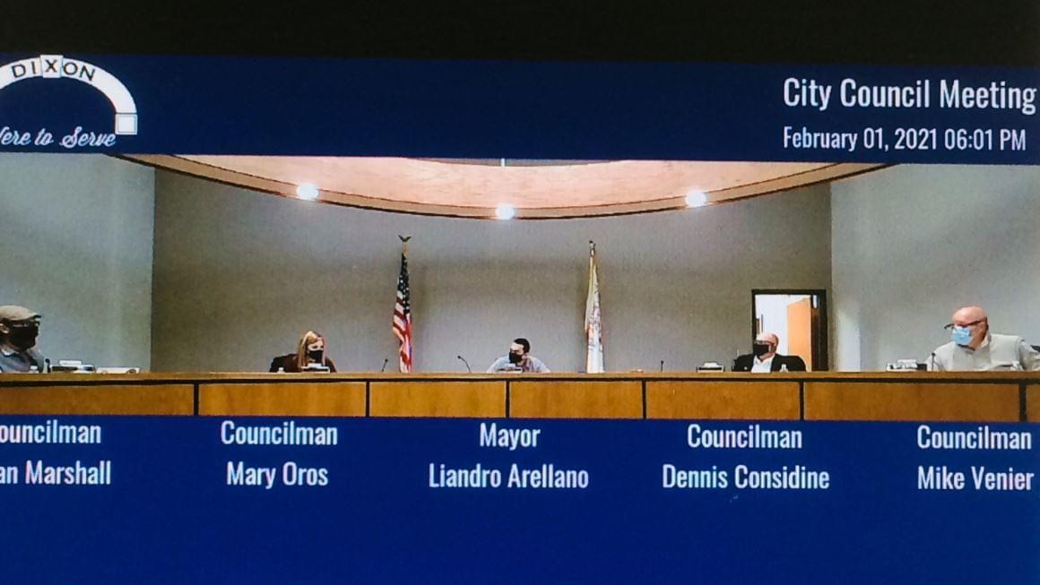 Dixon Council 2021 New