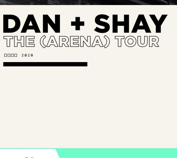 Dan +Shay the arena tour