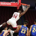New Look Huskers Dominate Opener 102-55 Over McNeese State