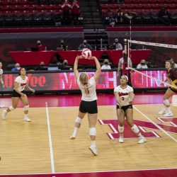 Nebraska-Wisconsin volleyball matches postponed