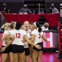 Nebraska sweeps Texas State to begin NCAA Tournament