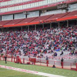 PHOTOS: Huskers welcome fans to Memorial Stadium for open practice
