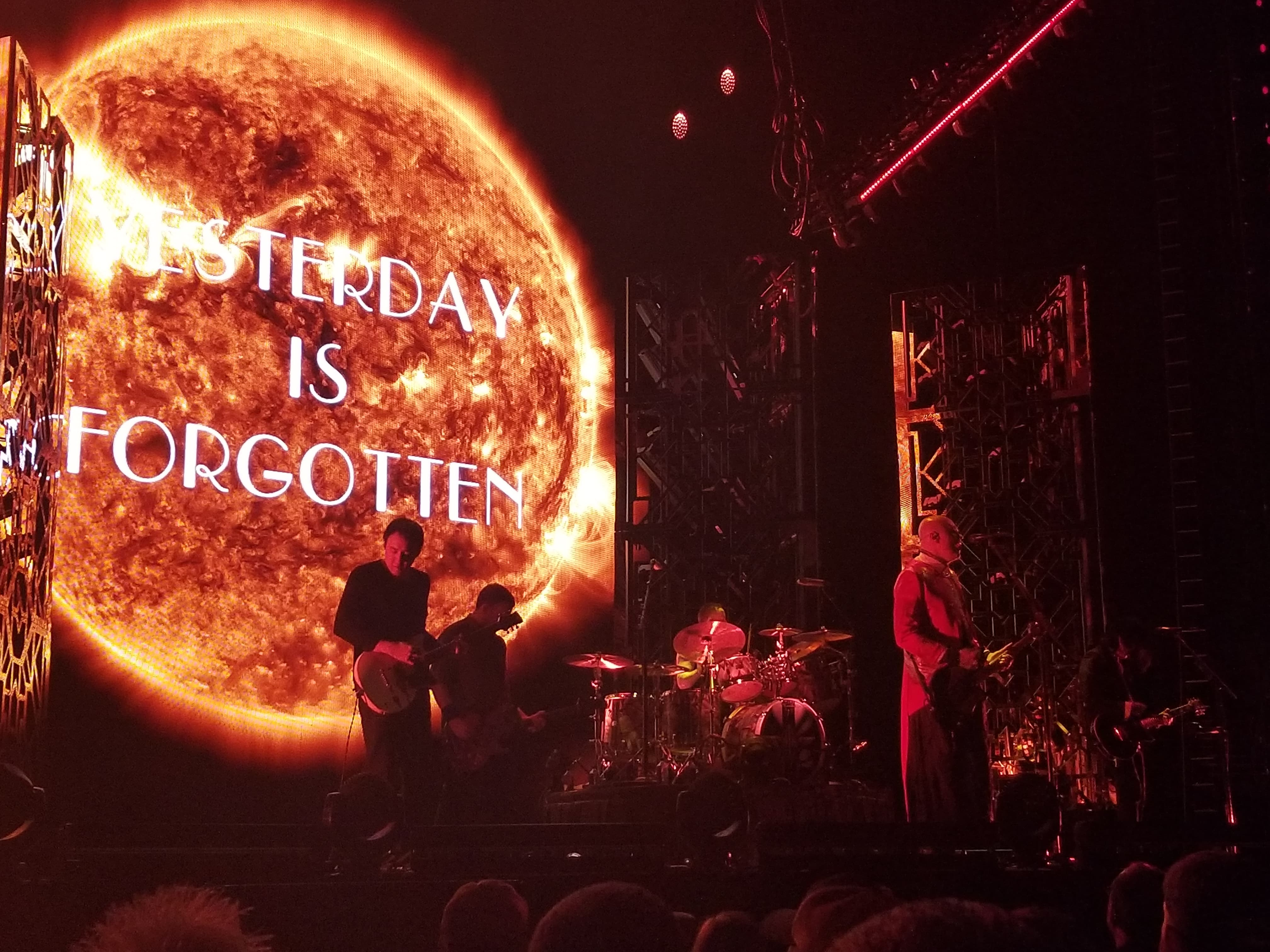 The Smashing Pumpkins Were Amazing.