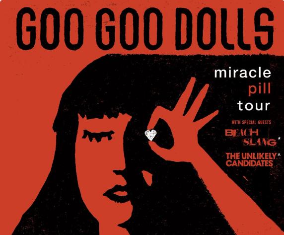 Goo Goo Dolls Announce 2019 Fall Tour