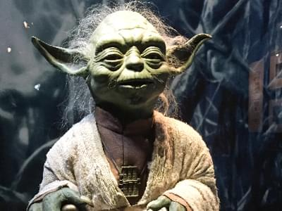 Yoda was almost played by a Monkey! According to the book The Making of Star Wars by J.W. Rinzler, George Lucas originally planned for Yoda to be played by an adorable monkey wearing a mask and carrying a cane.